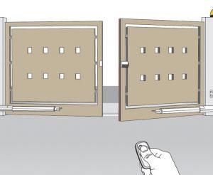 درب بازویی اتوماتیک