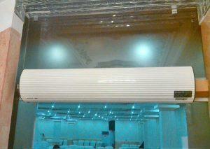 مشاوره پرده هوای تجاری فست فود | پروژه پرده هوای تجاری فراز کاویان در مجتمع ویلاژ توریست